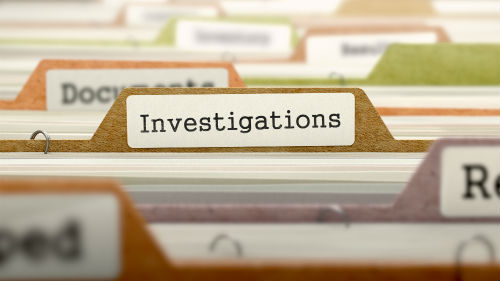 Investigations Filing